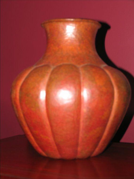 Handmade Copper Vase A 4000 Year Old Art No Seams Etsy Old Art Copper Vase Handmade Copper