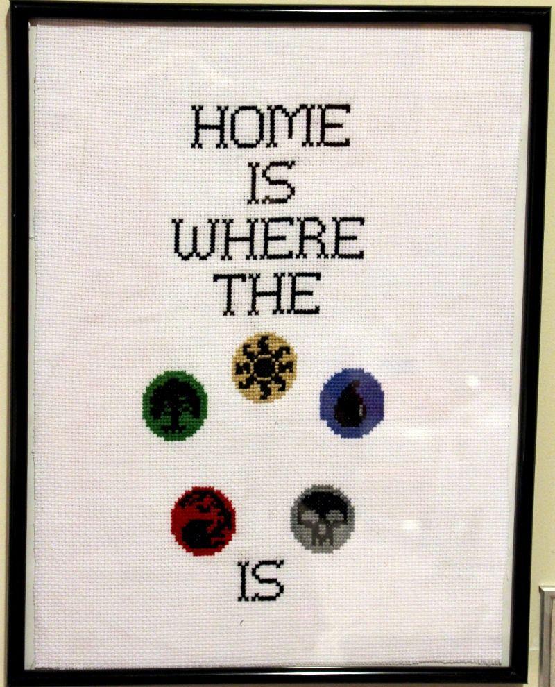 Home is where the mana is by SweetNerdyCakes.deviantart.com on ...
