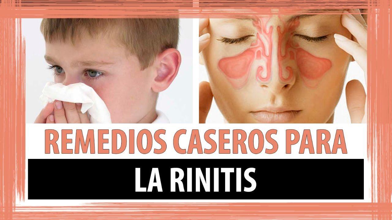 medicina alternativa para la rinitis