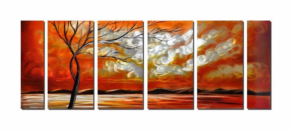 Treeblight Life Aluminum Wall Art Original Large Abstract Painting ...