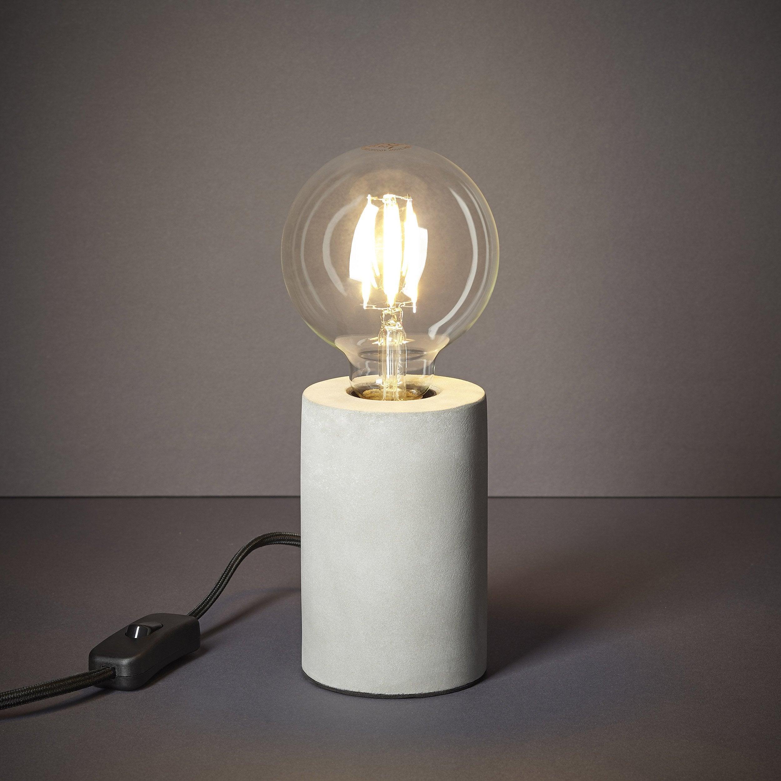 Lampe Vintage Beton Beton Inspire Ralee Lampes Vintage Lampe Lampe De Chevet