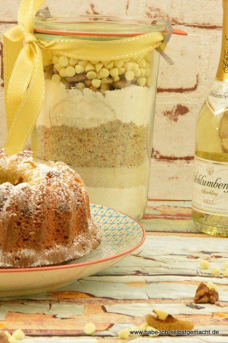 Backmischung Im Glas Selber Machen Prosecco Mandarinen Kuchen