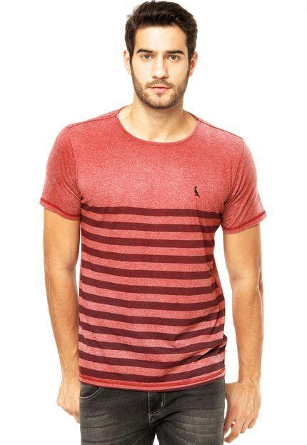 Camiseta Reserva Vermelha - Compre Agora   Dafiti Brasil   T-Shirts ... 1ad808b49a