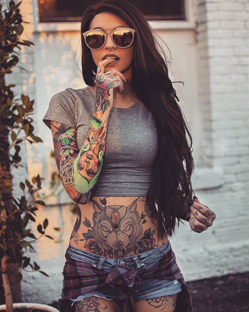 Mature tattooed women tattoo