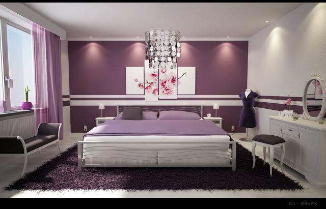 purple_bedroomjpg (640×411) Roberto Dominguez Interiorismo