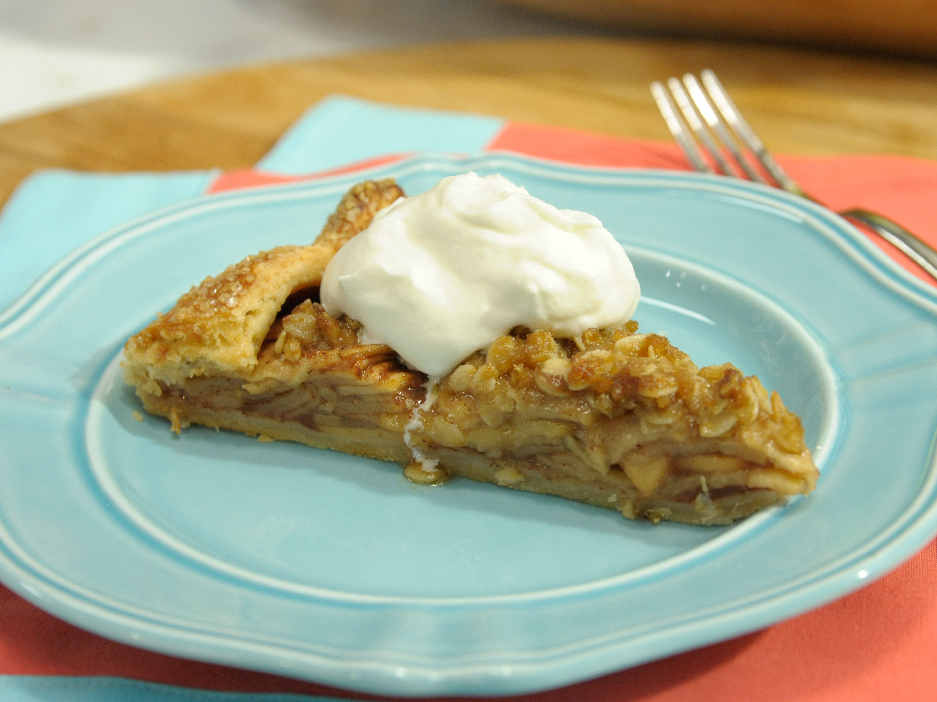 Rustic apple pie crostata recipe crostata recipe katie lee rustic apple pie crostata forumfinder Choice Image