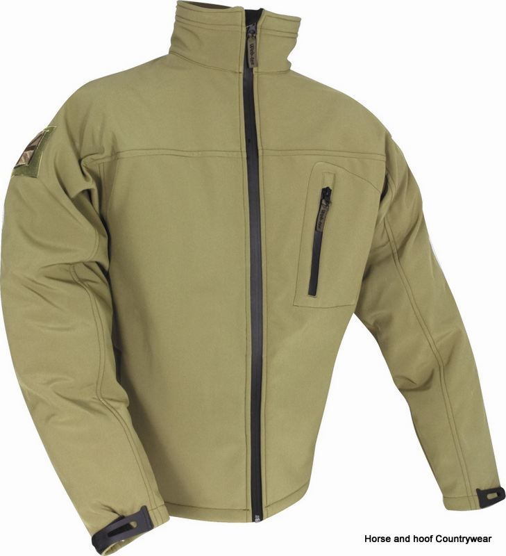 Web Tex Tactical Soft Shell Jacket