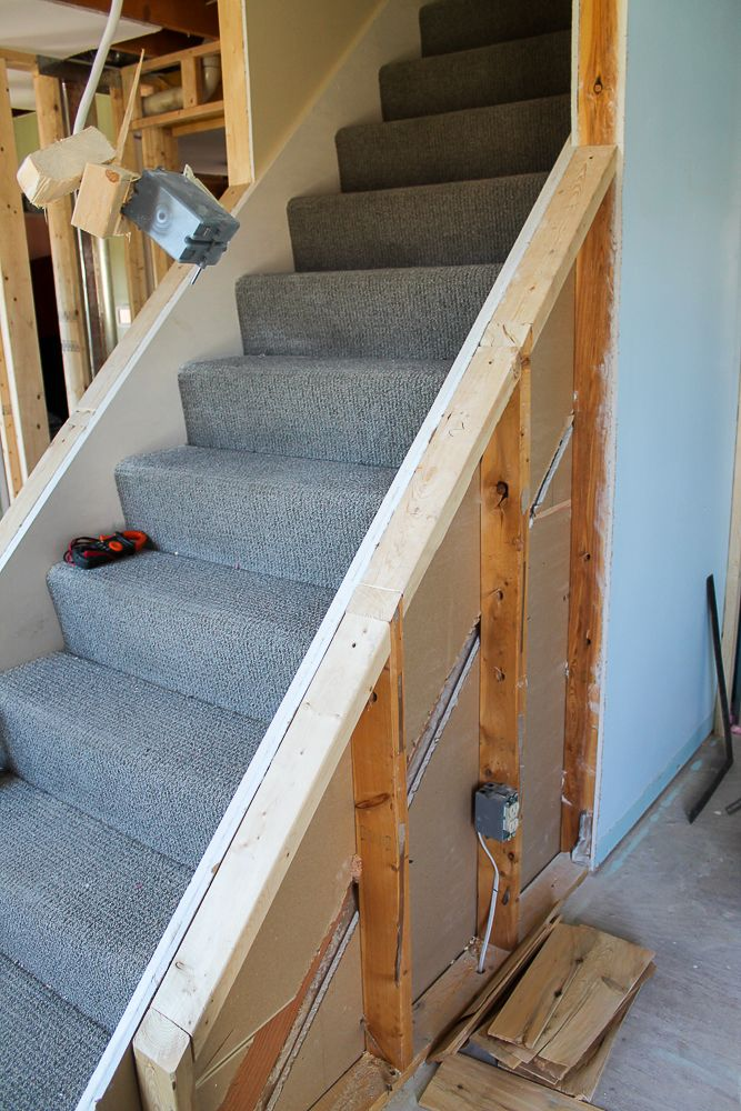 Best How To Open Up Interior Staircase With Railing Dream Home 400 x 300