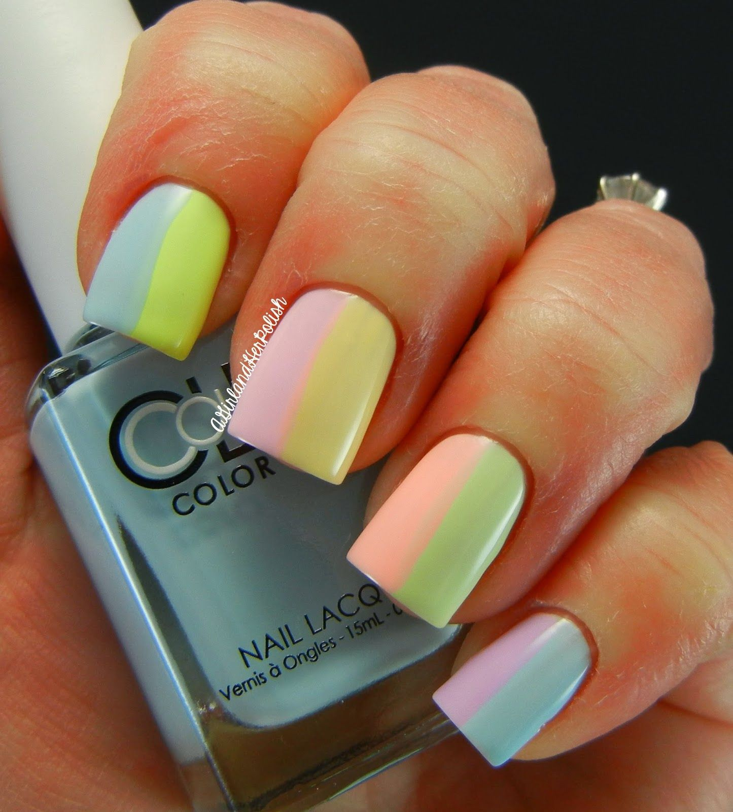 A Girl and Her Polish: Color Club Poptastic Pastel Neon