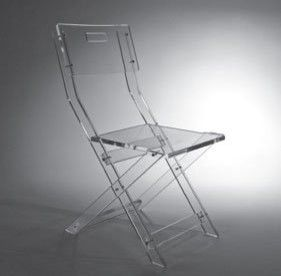 Amazing Glam Lucite Folding Chair Modern Chairs
