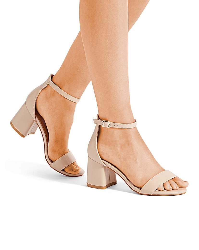 4ecf3fcefc70 Cammy Block Heels Extra Wide Fit