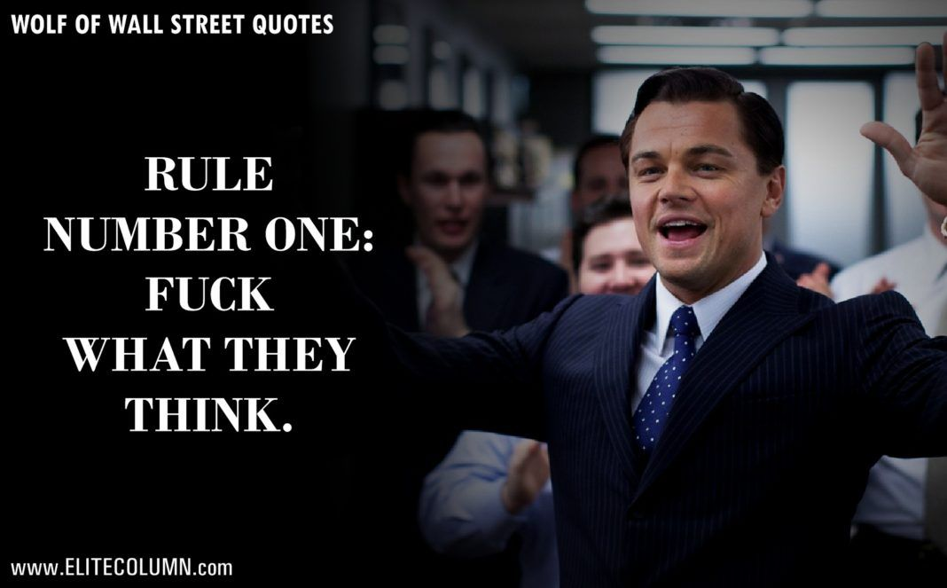 12 epic leonardo dicaprio quotes from the wolf of wall on the wolf of wall street id=86724