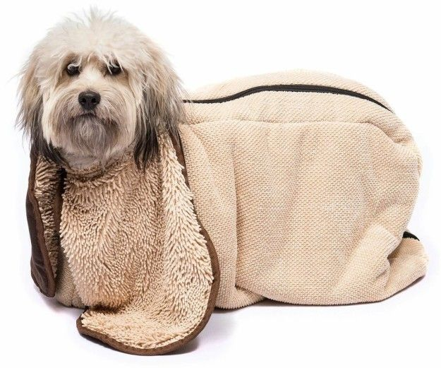 A State Of The Art Towel To Dry Your Pooch After Bath Time