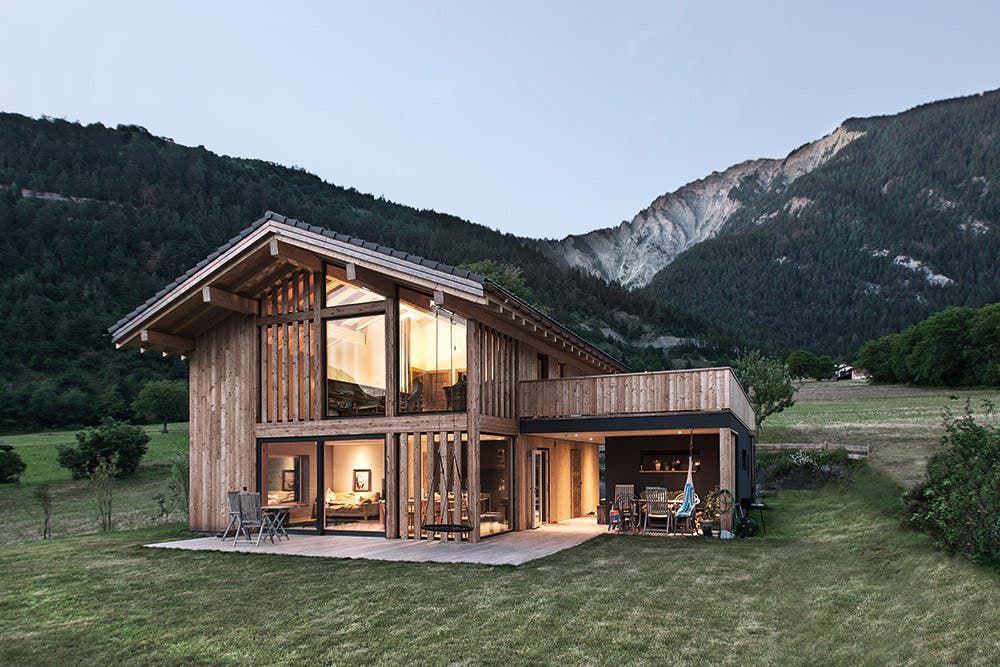 Buchtipp: «Traumhafte Häuser in den Alpen» von Andreas K. Vetter
