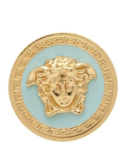 VERSACE  Medusa Medallion  Ring   Versace   Pinterest b317d39d5e9