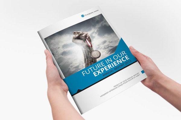 Annual Report Brochure Template by Braxas Mora via Behance – Annual Report Brochure