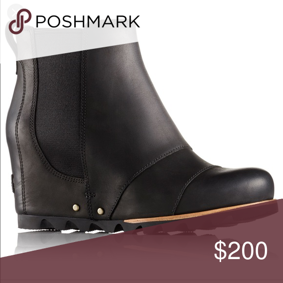 c9030a9c870 ISO Sorel Lea wedge bootie black size 6 Looking for Sorel Lea wedge bootie  black size 6 Please let me know if you have these Sorel Shoes Ankle Boots    ...