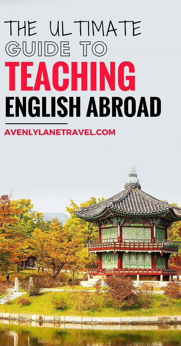 How To Get A Job Teaching English Overseas Travel Tips Pinterest