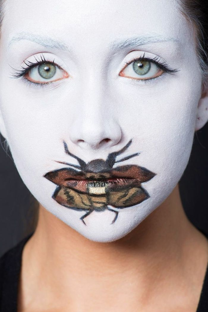 1001 Ideas y tutoriales de maquillaje para Halloween Pinterest