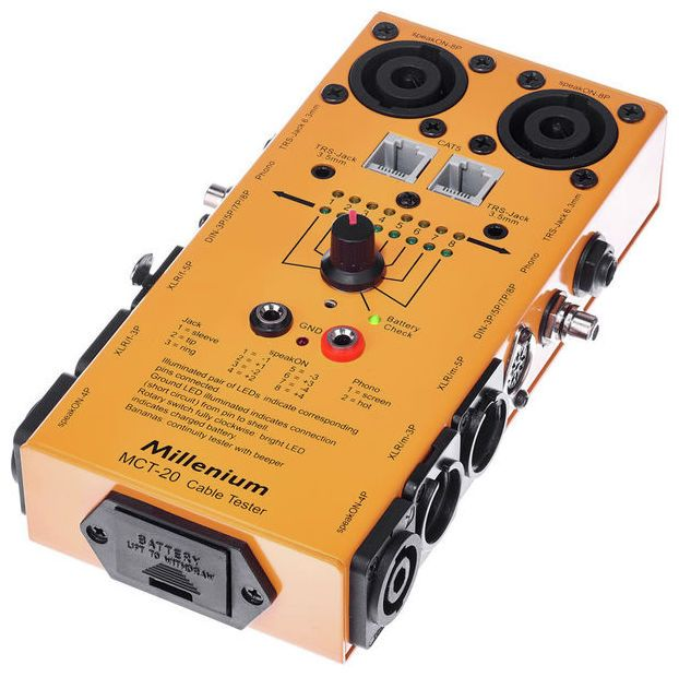 Millenium MCT-20 | PA Gifts for Sound Engineers | Sound