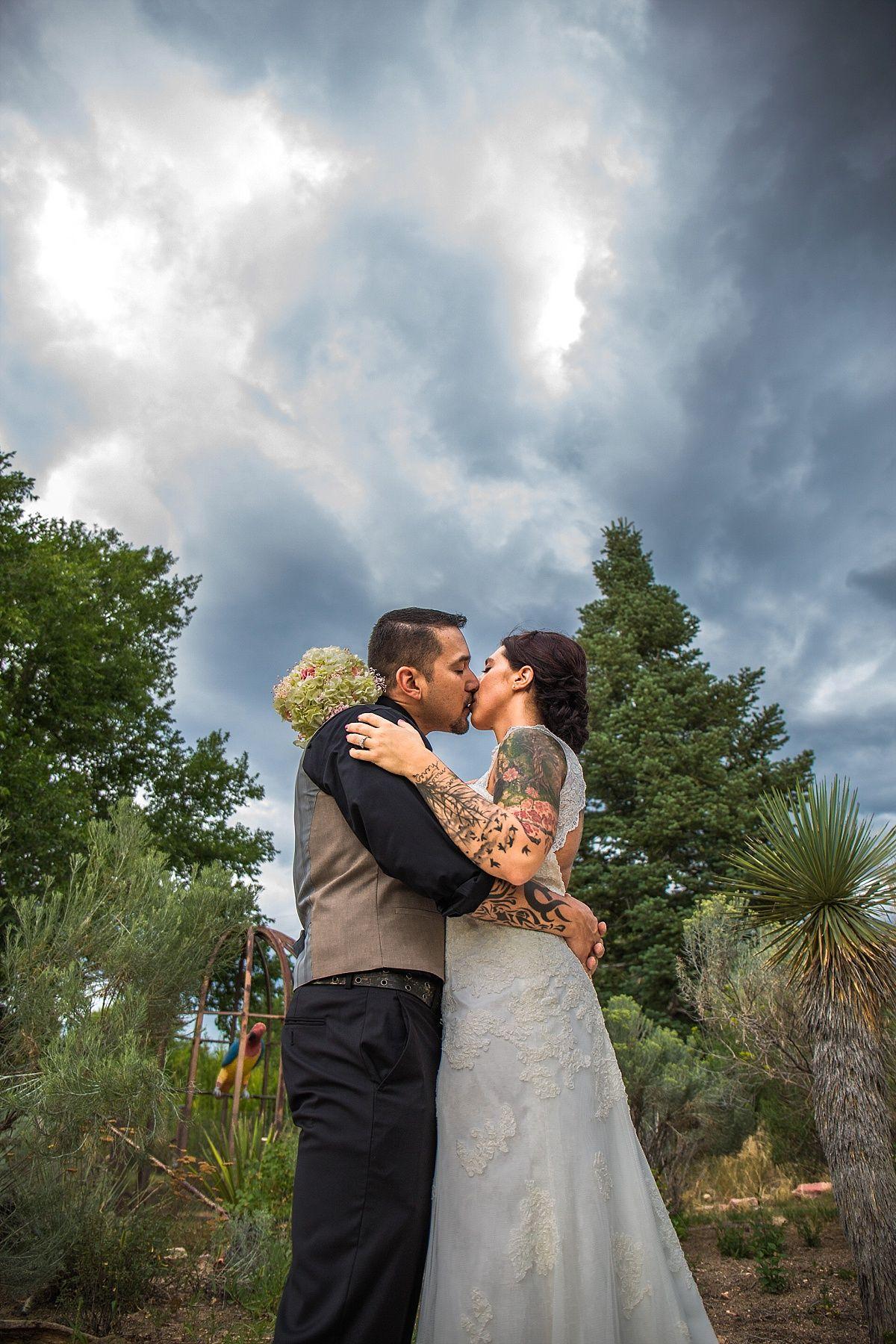 Colorado Springs Wedding Photographer Hillside Gardens