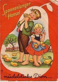 Spannenlanger Hansel nudeldicke Dirn Kindrreime 60er www