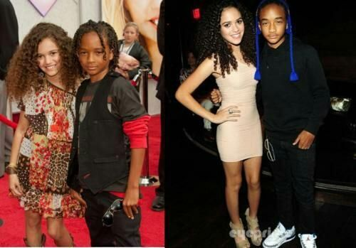 madison pettis and jaden smith kissing - Google Search