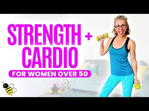 25 Minute STRENGTH + Low Impact CARDIO Workout for Women over 50 ⚡️ Pahla B Fitness