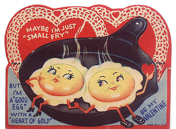 Youre a Good Egg Happy Valentines Day – Old Valentines Day Cards