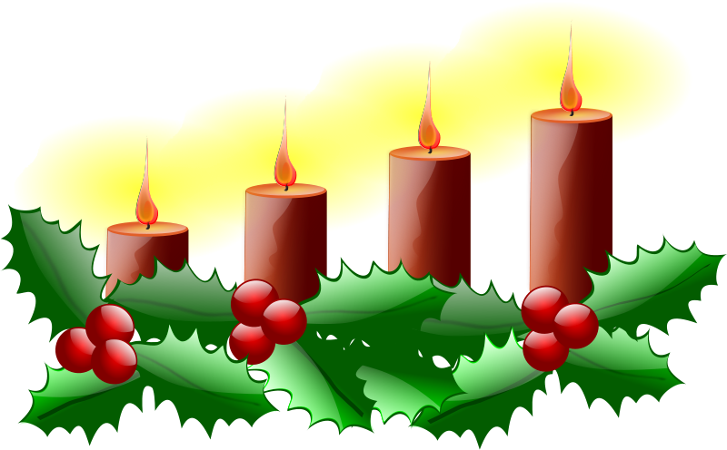 Advent season. Free clipart fourth sunday