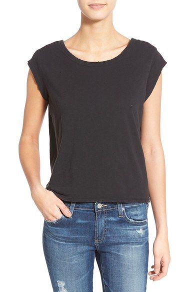 Joe's 'Laudes' Scooped Back Cotton Tee available at #Nordstrom