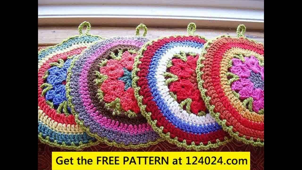 Easy Crochet Potholder Pattern Easy Crochet Potholder Patterns Youtube #crochetpotholderpatterns