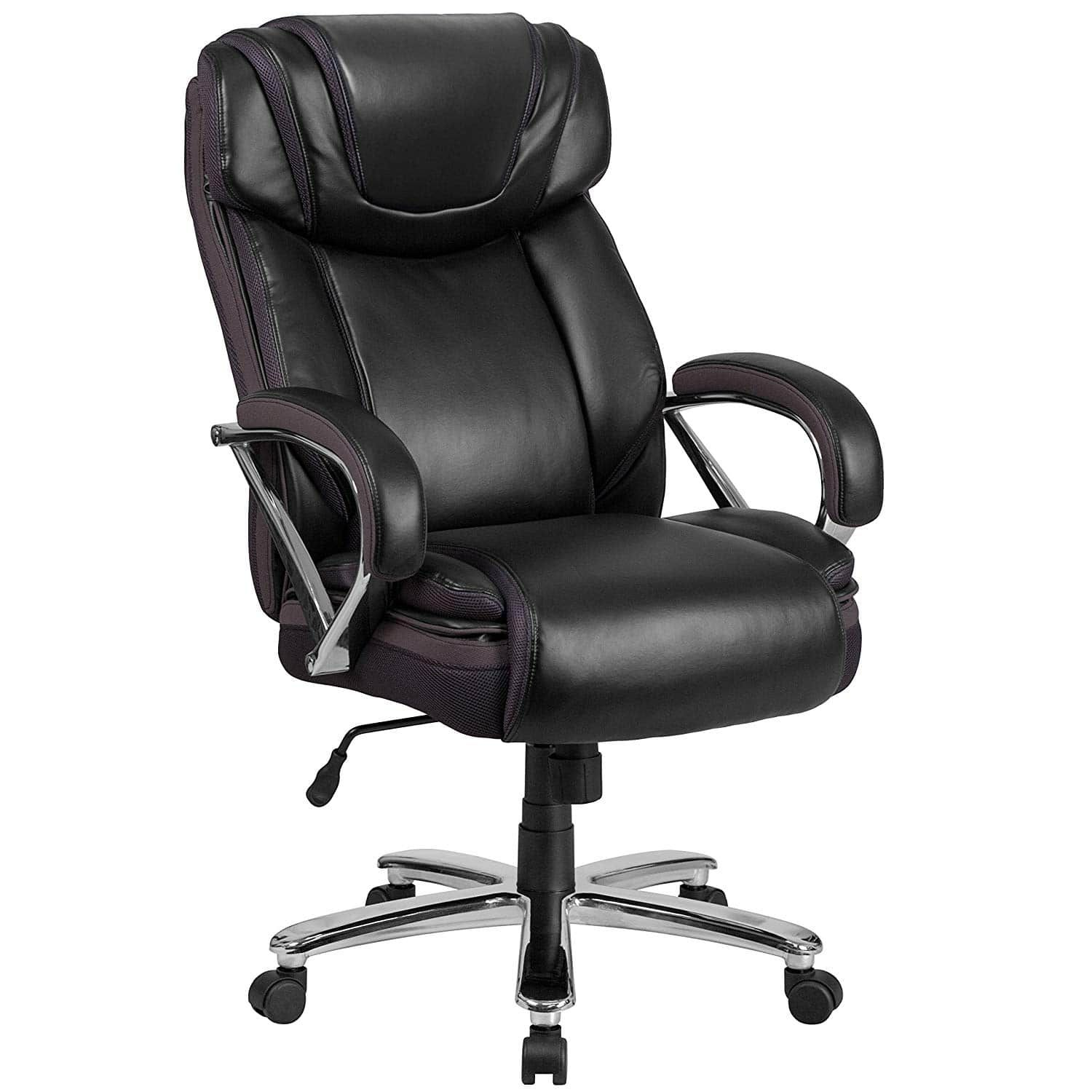 Best Office Chairs For Big Guys Reviews Best Heavy Duty Office Chair In 2020 Black Leather Office Chair Leather Office Chair Best Office Chair