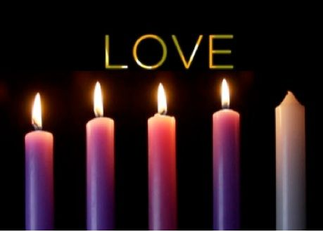The 4th Sunday of Advent Love | Third sunday of advent, Blue candle magic, Christian christmas