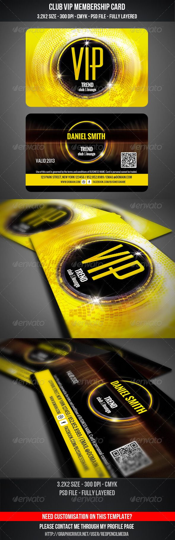 club membership card template – Club Membership Template