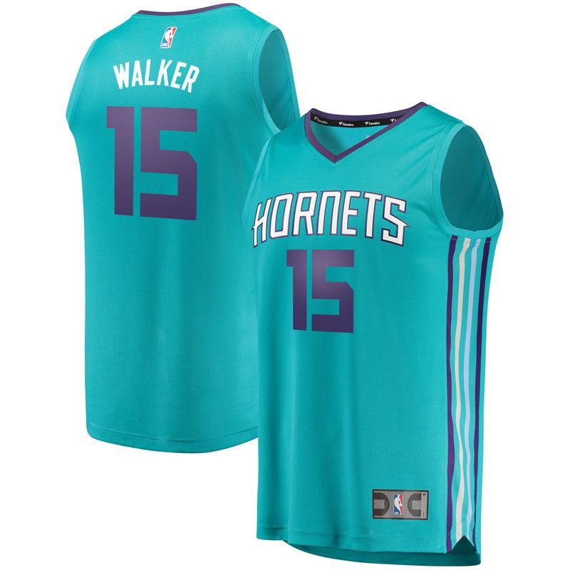 Kemba Walker Charlotte Hornets Fanatics Branded Youth Fast Break Replica  Jersey Teal - Icon Edition adbeefeaa