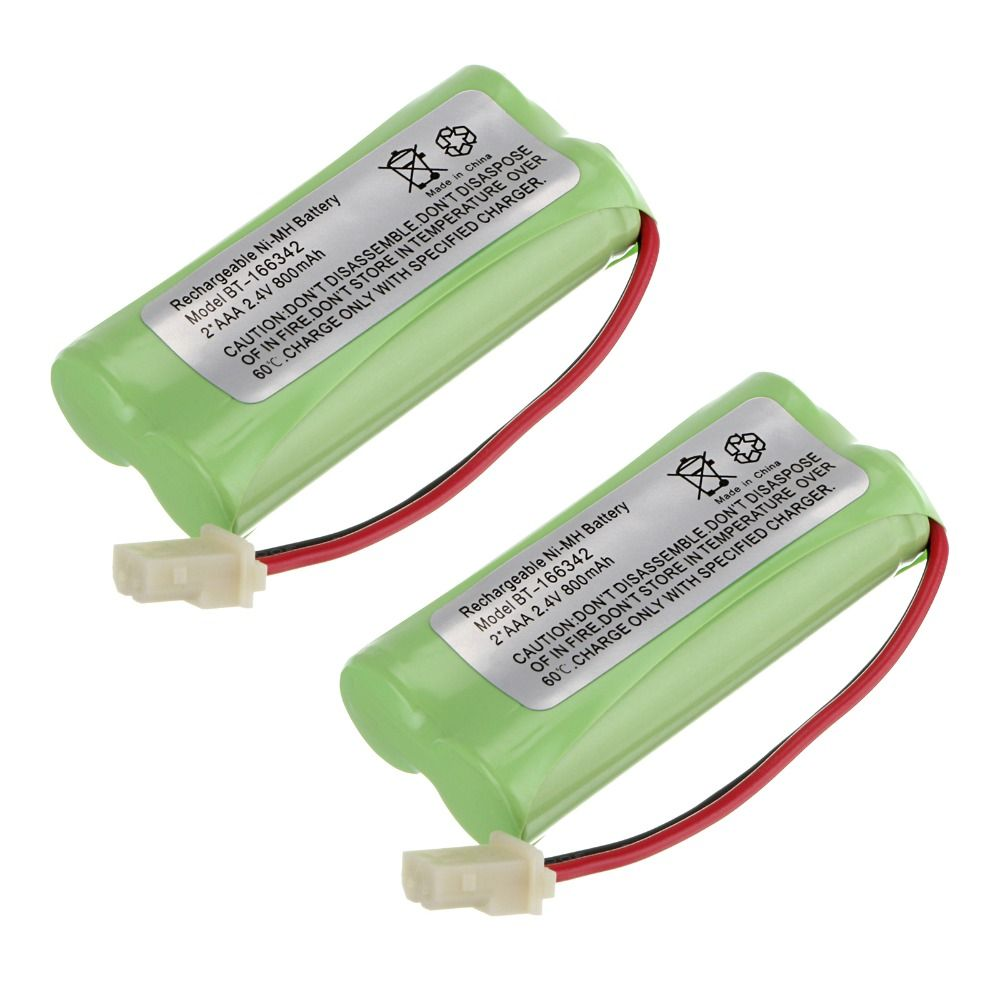 Liangte 2 Pcs 2 4v 800mah Ni Mh Battery Pack For Cordless Home Phone At T Bt166342 Click Visit To Buy From Aliexpress Home Phone Phone Battery Battery Pack