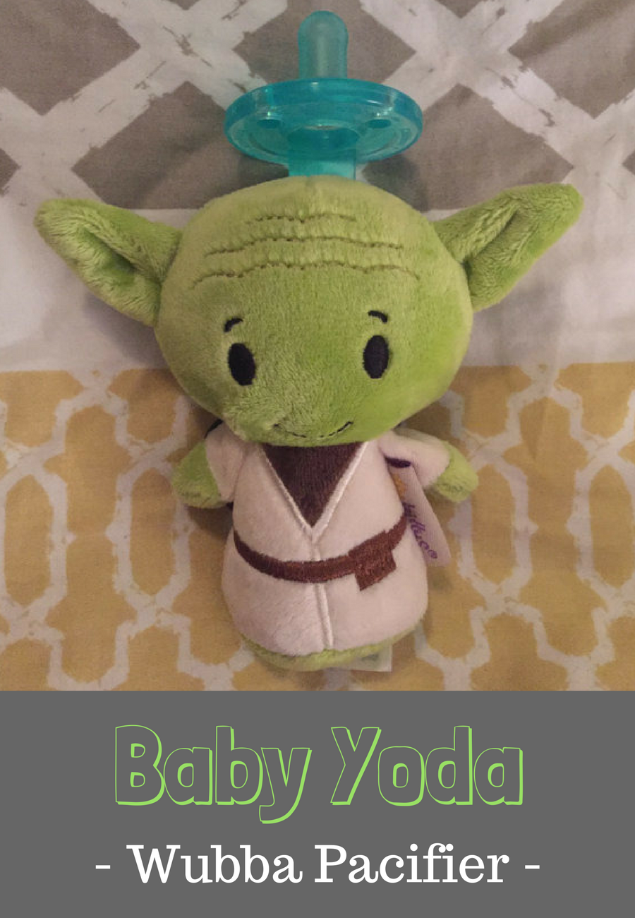 bb1606c685b Star Wars Yoda Wubba type pacifier. Makes a unique baby gift. Your baby  will be in style with their Star Wars accessory.  disney  starwars  wubba   pacifier ...