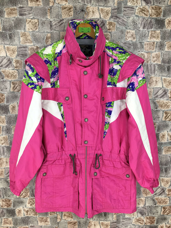 Clothing Jacket Colorblockjacket Ellesseskijacket Descenteskijacket Phenixskiwear Tommyskiwear Poloskiwear Bomb Pink Jacket Color Block Jacket Jackets [ 3000 x 2250 Pixel ]