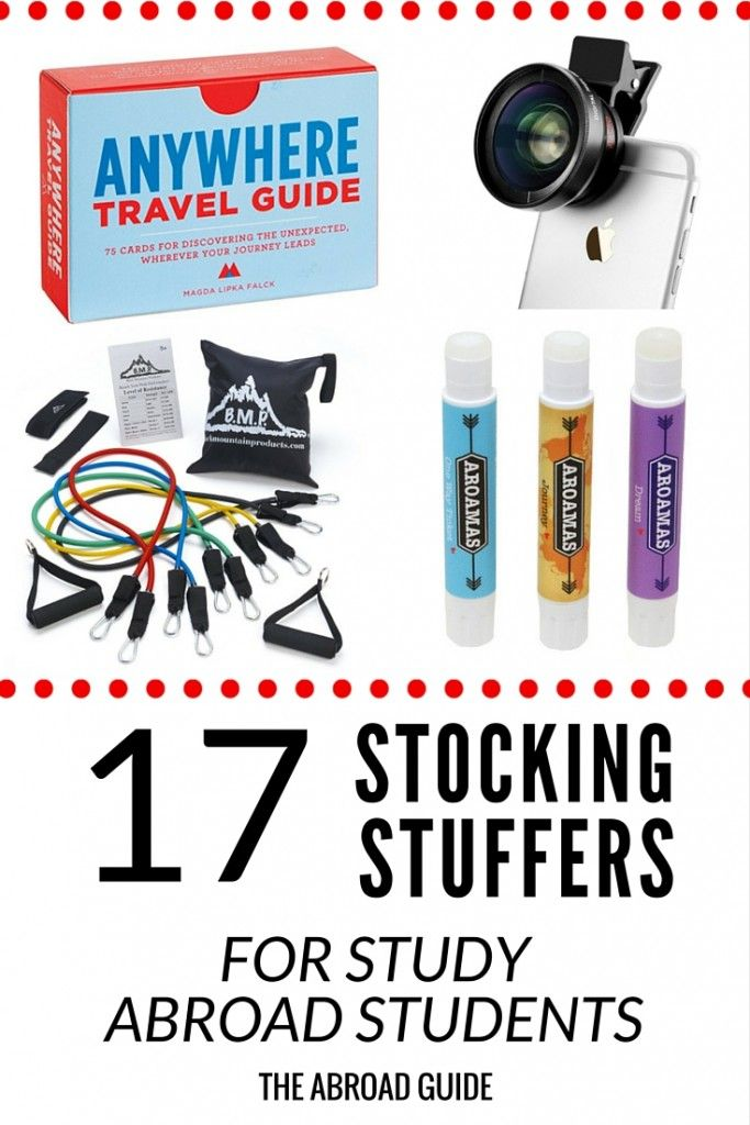 17 Stocking Stuffer Ideas For Students Studying Abroad In 2019 The Abroad Guide Study Abroad Gifts Study Abroad Travel Abroad Gifts