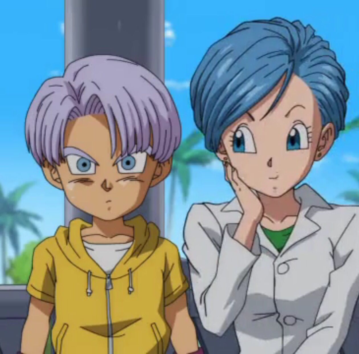 dragon ball super 49 bluma and kids trunks vegeta and family