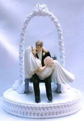 Wedding Cake Toppers-Wheelchair celebrate-love-and-let-s-party-in-style