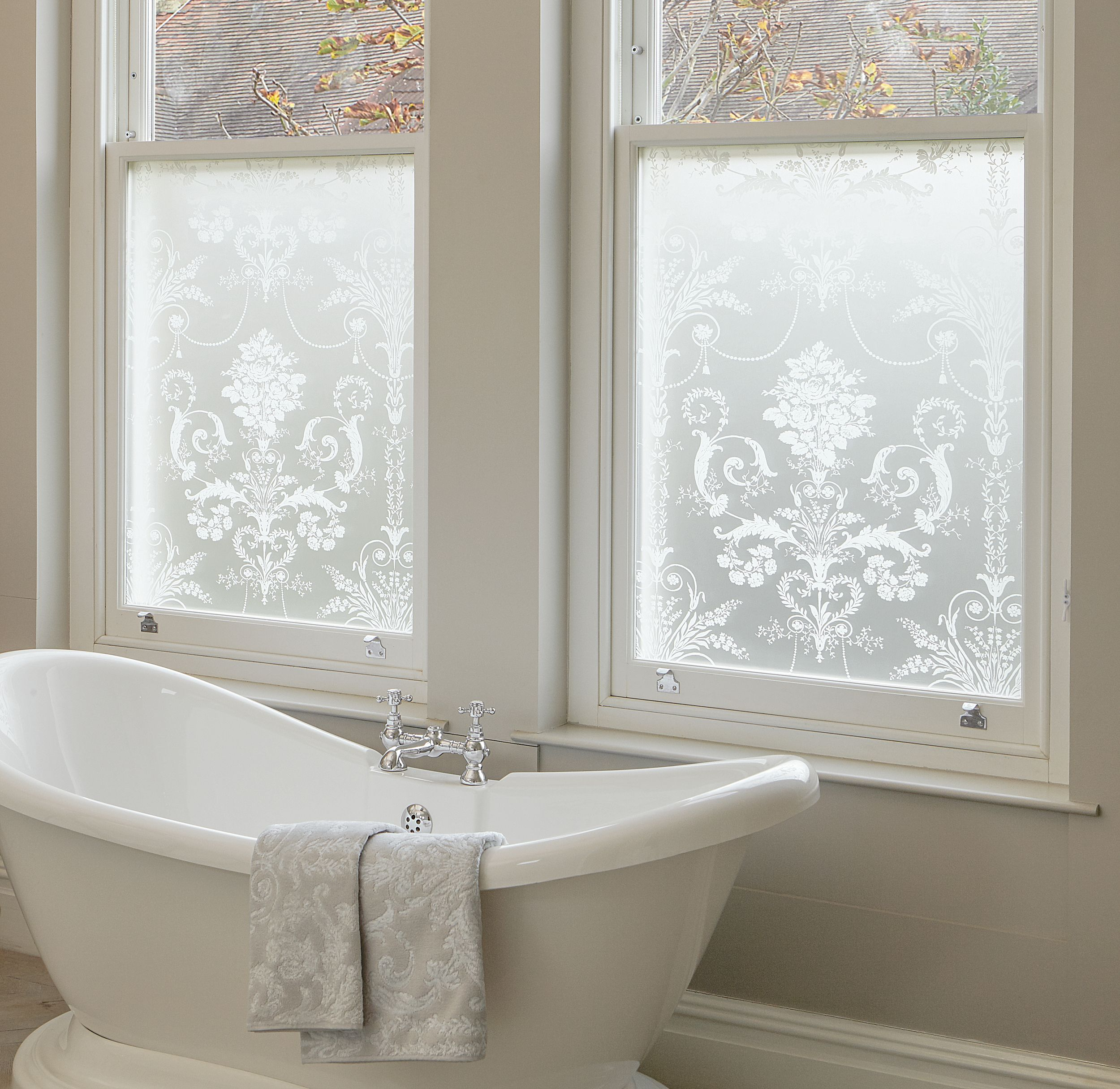 Translucent Window Film Window Film Plain Frosted At Laura Ashley Shabby Chic Window
