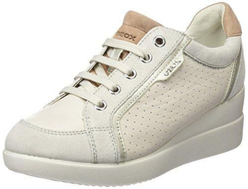 Geox D Stardust B, Chaussures Femme, Blanc (blanc), 35 Eu