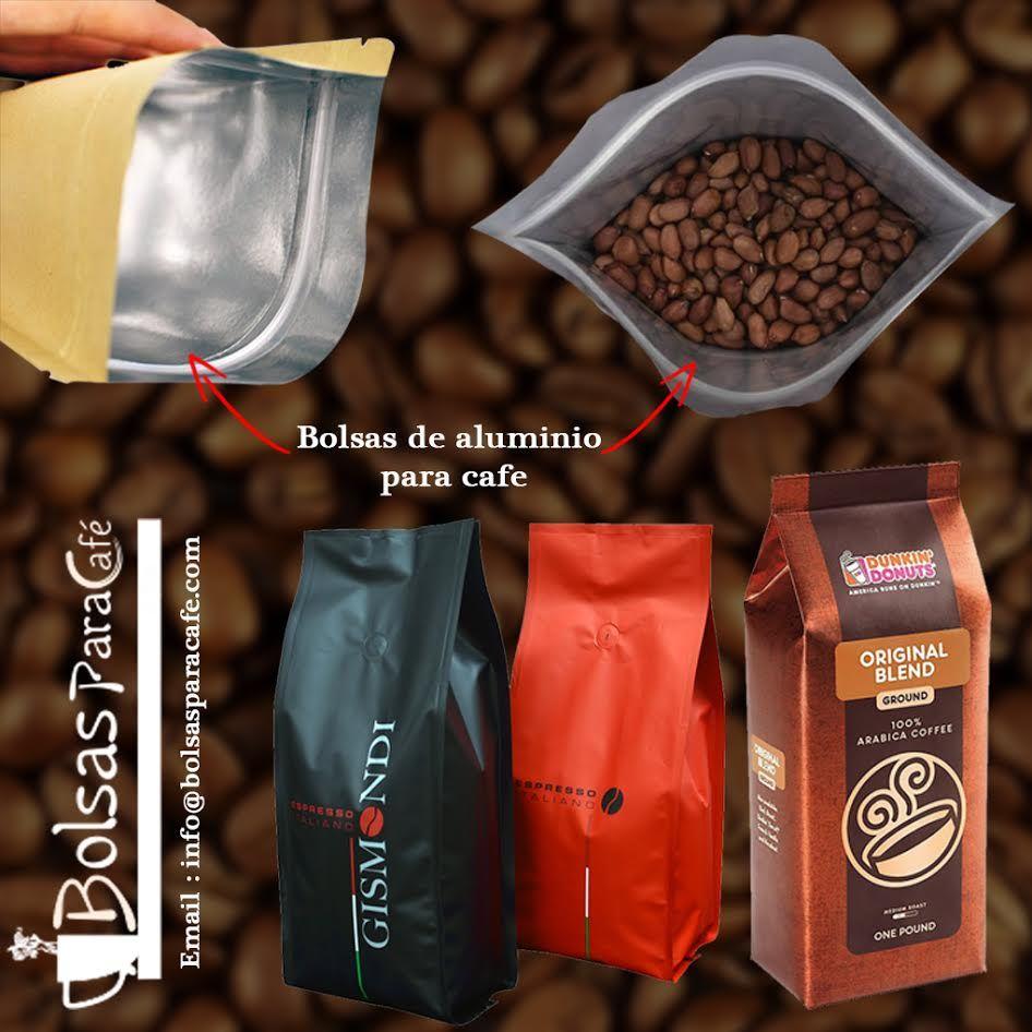 Packaging 37 Diseños De Envases Con Aluminio: Bolsas De Aluminio Para Cafe