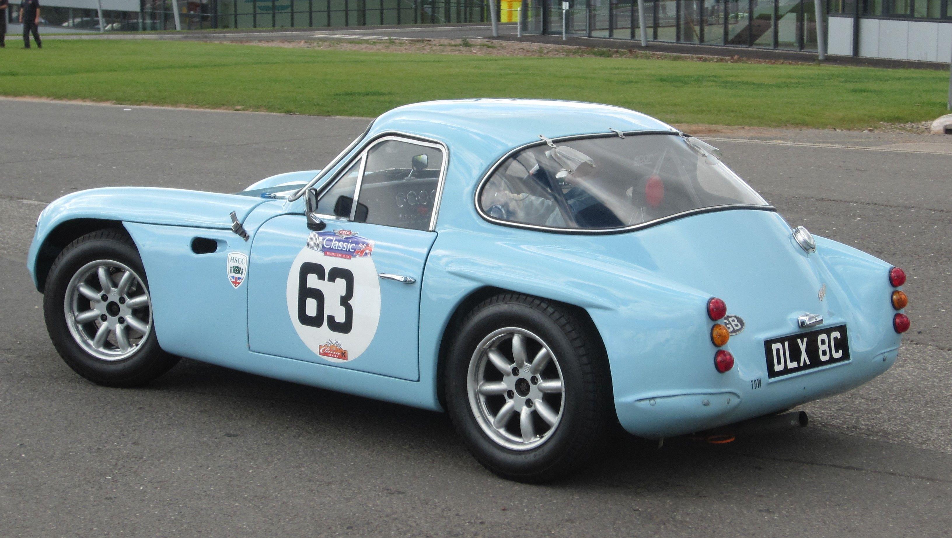 1963 TVR Grantura Mk.III (E) (CK) | Vintage motorsport | Pinterest ...