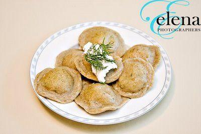 Cilantro Ravioli with Potatoes {Vegan Recipe}