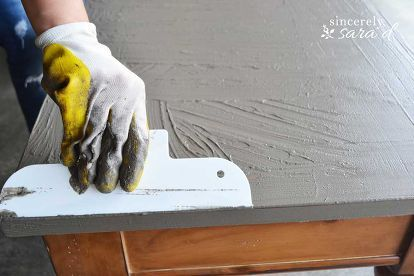 Good DIY Concrete Table Top