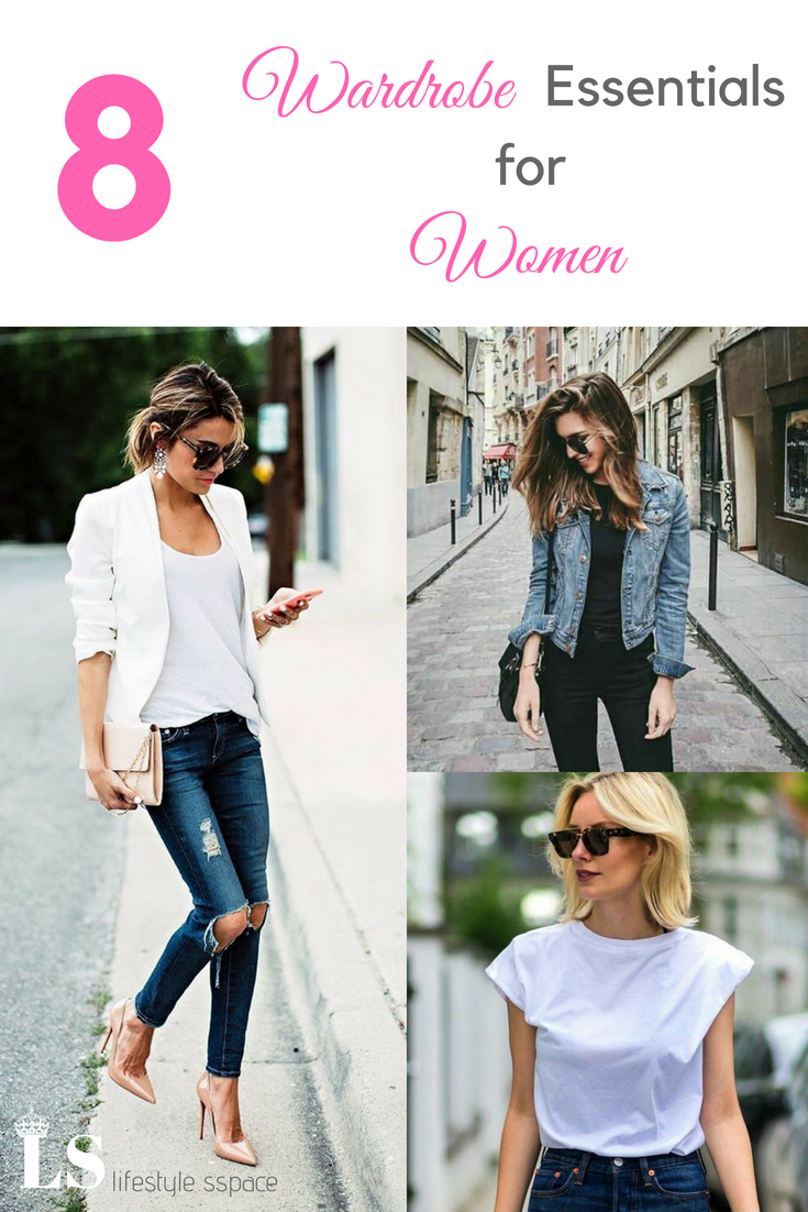 8 Wardrobe Essentials For Women #fashionstylesforwomenover30