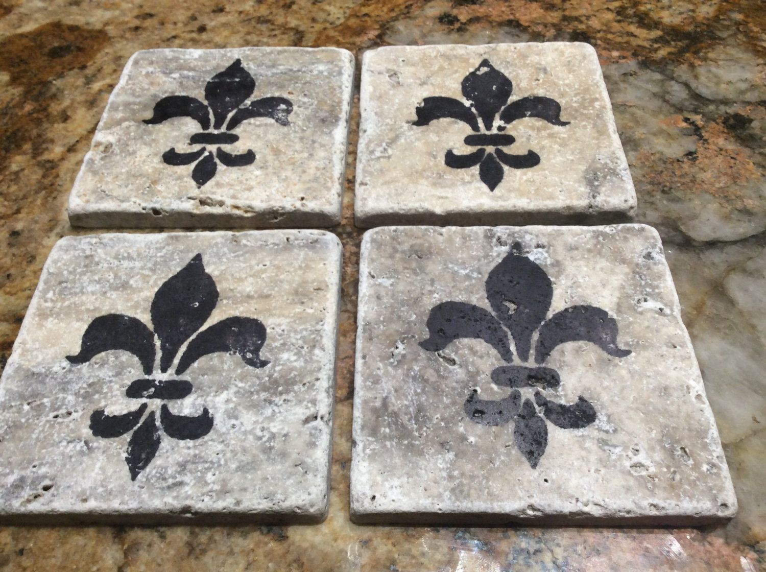 Stone Decorative Tiles Alluring Use Coupon Code Pinterest15 For 15% Offfleur De Lis Drink Inspiration Design
